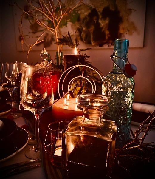 Comment organiser un repas de Noël à l'ancienne avec un menu vintage !