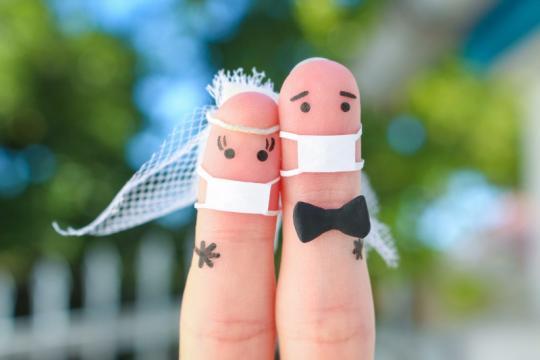 Comment réussir son mariage en période COVID-19, pas de panique !