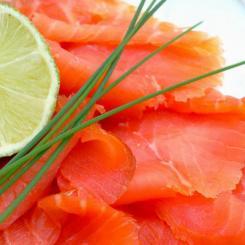 plateau de saumon
