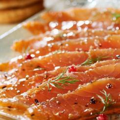 plateaux de saumon traiteur