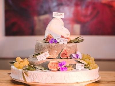 Notre pièce montée de fromage