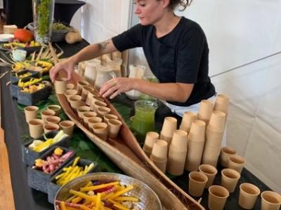 JUNGLE BAR SMOOTHIES, GASPACHO ET CRUDITES