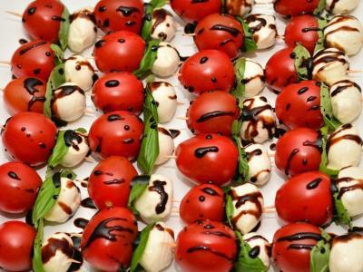 MENU «ORIGIN A L'ITALIENNE» - PLATS FROIDS