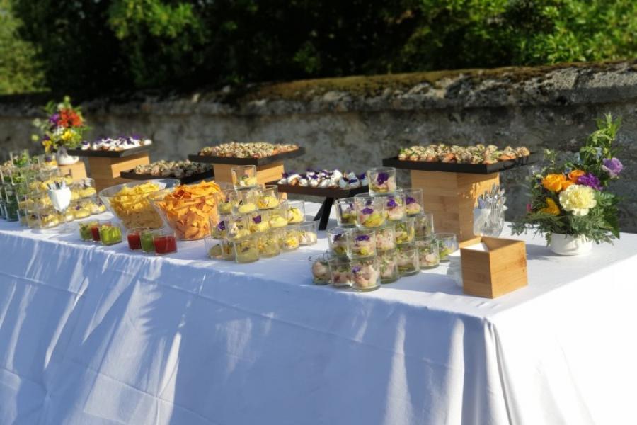 Nos buffets de vin d'honneur