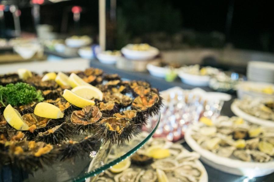 Nos huîtres et oursins