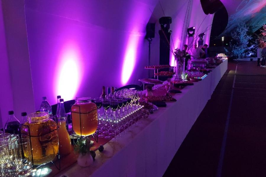Buffet de boissons