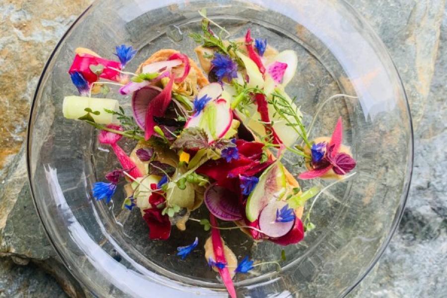 Tartelette de légumes de saison une farandole de couleurs et de saveurs